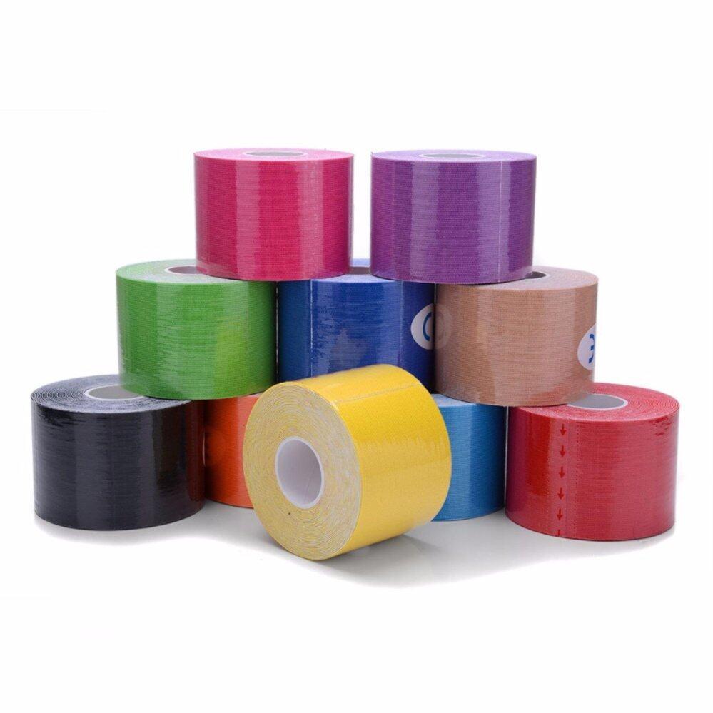 Elastic Kinesiology Sports Therapeutic Bandage Sport Tape 5CM X 5M