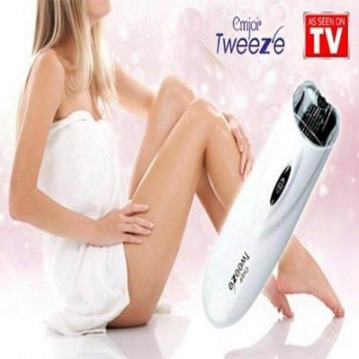 Electric Pull Tweeze Device Women Hair Removal Epilator Facial Trimmer Depilation