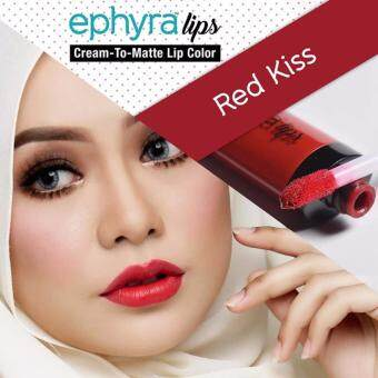 Harga EPHYRA LIPS CREAM TO MATTE [Red Kiss]