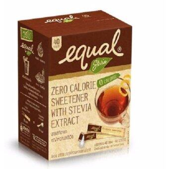 Harga Equal All Natural Stevia (Natural Sweetener for Diabetes) 40's/ Box