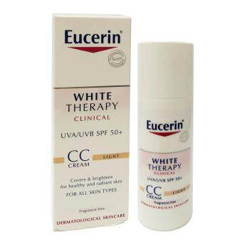 sell eucerin white therapy cc cream light 50ml in best online shooping. Black Bedroom Furniture Sets. Home Design Ideas