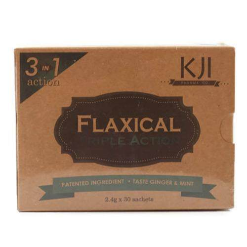 FLAXICAL- FOR JOINT AND BONE (3IN1 ACTION) 30 X 2.4GM (GINGER AND MINT TASTE)