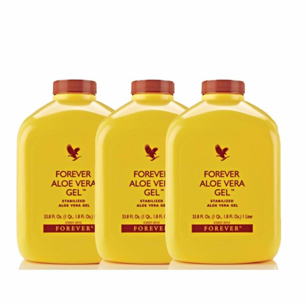 Forever Living Aloe Vera Gel  Drink 3 x 1Liter