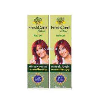 Harga Freshcare Minyak Angin Citrus 10ML - 2 units