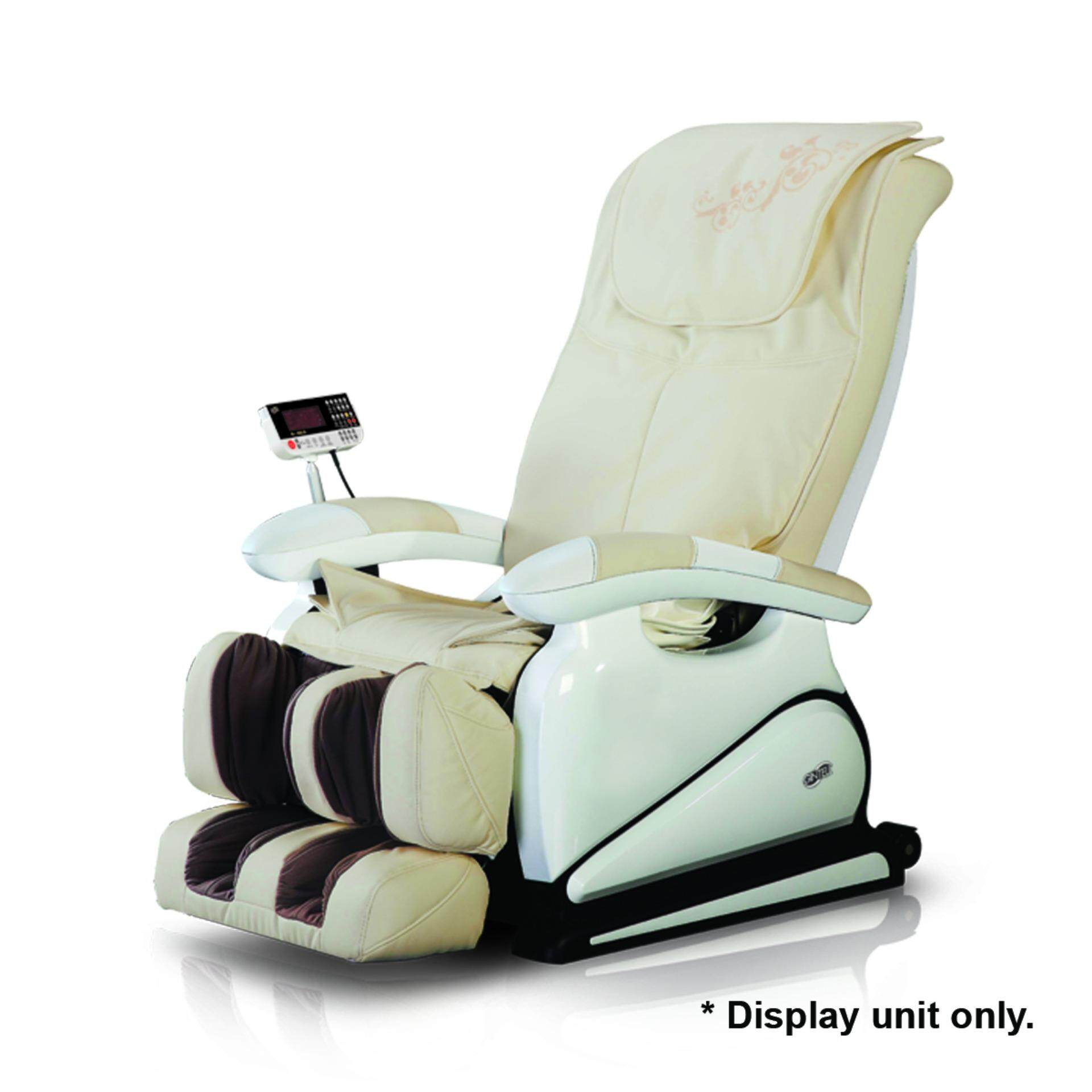 GINTELL G-Pro Gold Massage Chair (Showroom Unit)-Ivory color