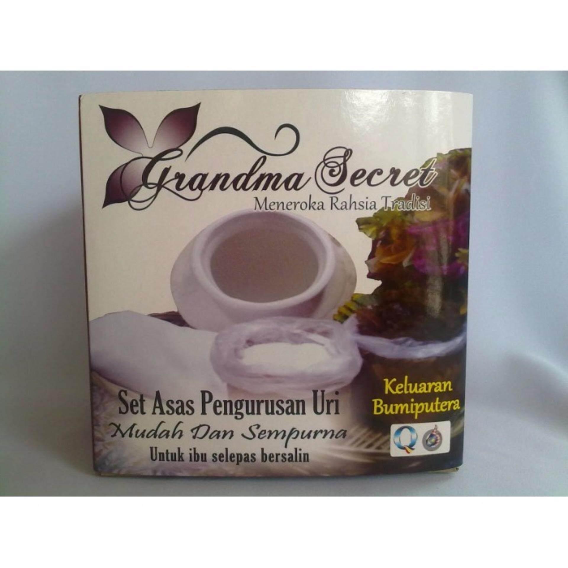 Grandma Secret - Set Asas Pengurusan Uri