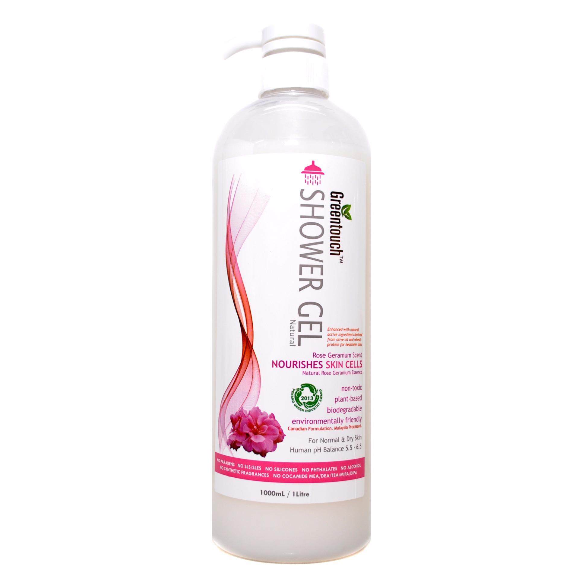 Rayma Solutions New Arrival Segotep Ramadan 3 Greentouch Shower Gel Natural Rose Geranium Essence For Normal Dry Skin