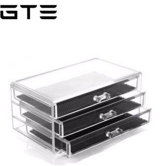 Harga GTE 3 Tier Multifunctional Cosmetics Jewelry Organizer