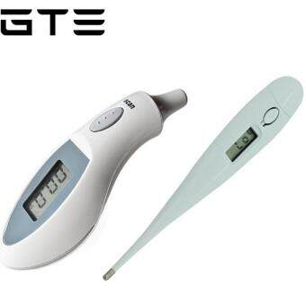 Harga GTE Bundle Set - Digital Thermometer & Portable Infrared Ear Thermometer