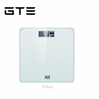 GTE Digital AHT Scale High Accuracy Weight Scale Precision Household Weighing Machine Body Weight Loss Measuring Scale - White