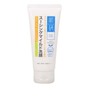 Harga Hada Labo Mild and Sensitive Skin Face Wash 100g