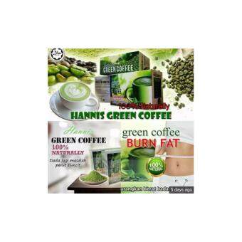 Harga Hannis Green Coffee 100% ASLI ORIGINAL