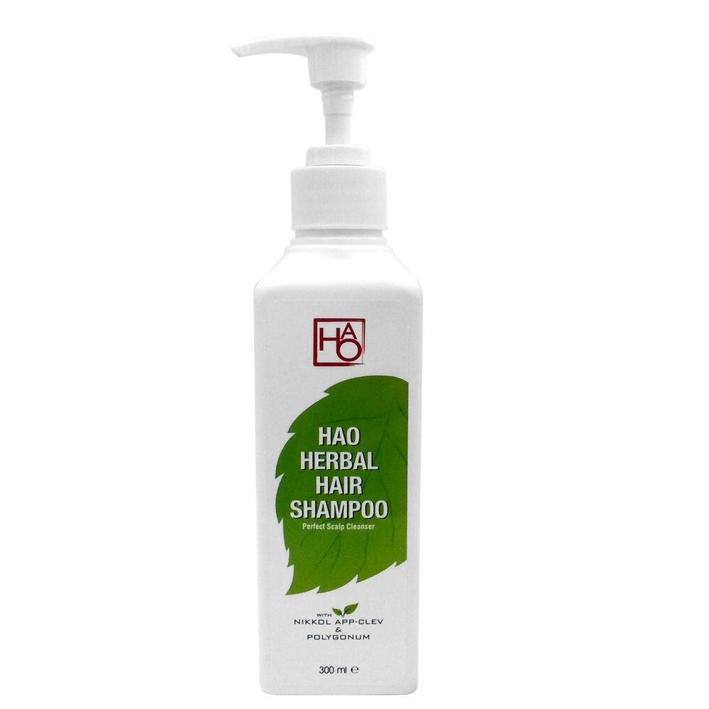 "HAO Herbal Hair Shampoo 300ml with ""Nikkol App-Clev"""