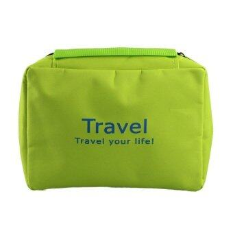 HB Make up bag naturehike necessaries beauty cosmetic bags case GrassGreen - intl