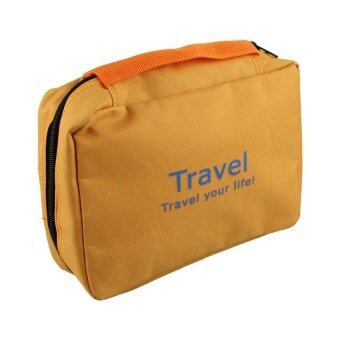 HB Make up bag naturehike necessaries beauty cosmetic bags case Orange - intl