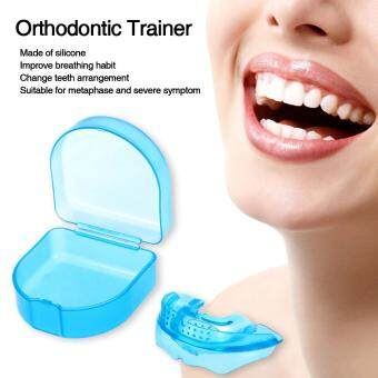 Harga Health Beauty Health Accessories 1Pc Orthodontic Trainer TeethAlignment Straight Teeth System Adult Mouthpieces Brace Dental TrayMouthguard With Box