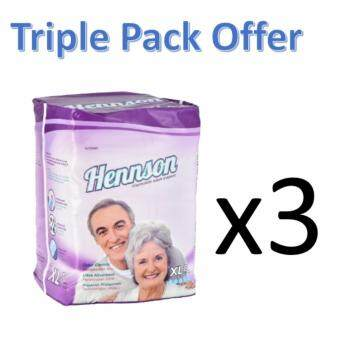 Hennson Adult Disposable Diapers XL 8s Triple Pack
