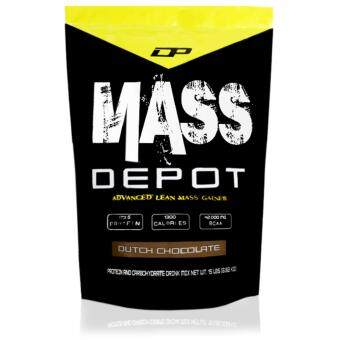 Harga High Protein Mass Gainer - Mass Depot 15lb/6.8kg, 173g Protein FromWhey Depot (Dutch Chocolate)