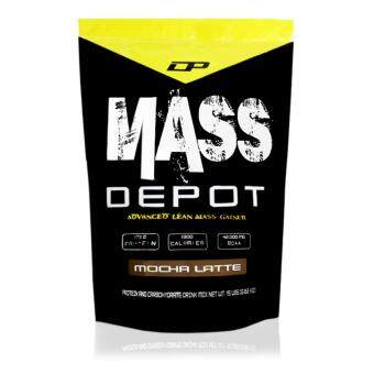 Harga High Protein Mass Gainer - Mass Depot 15lb/6.8kg, 173g Protein FromWhey Depot (Mocha Latte)
