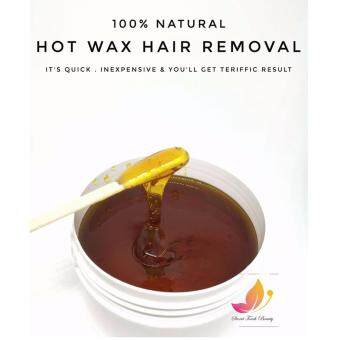 HOT WAX Semi-Permanent Hair Removal Wax Gel for full body wax with vitC [Organic product]