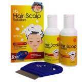 HS HAIR SCALP SOLUTION 50ML X 2BOTS