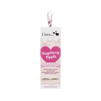 I LOVE Raspberry Ripple Bath & Body Treats 500ml