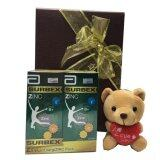 I Love You Bear With Surbex Zinc Valentine's Gift Set