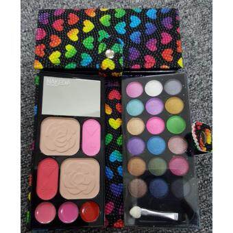 Harga Kiss Beauty Fashion Naked 4 Make Up Wallet Kit (Black)
