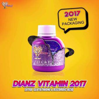 Harga Dianz Vitamin C & E with Extra Glutathione & Ascorbic Acid (35 tablets)