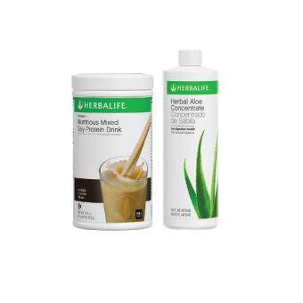 Harga HERBALIFE F1 Cookies + Aloe Concentrate
