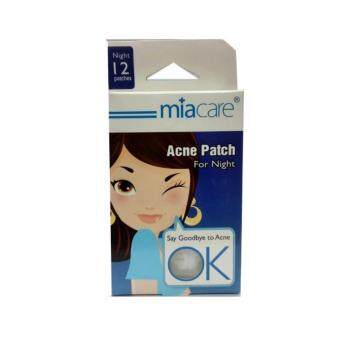 Harga Miacare Acne Patch for Night 12 patches, Clears Acne & Pimples Fast