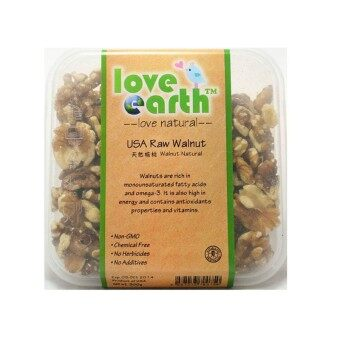 Harga Love Earth USA Raw Walnut 300g