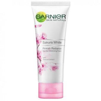 Harga Garnier Sakura White Pinkish Radiance Gentle Cleansing Foam 50ml