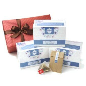 Harga The Blu Garden Trio Tender Breeze Flower Tea Gift Set