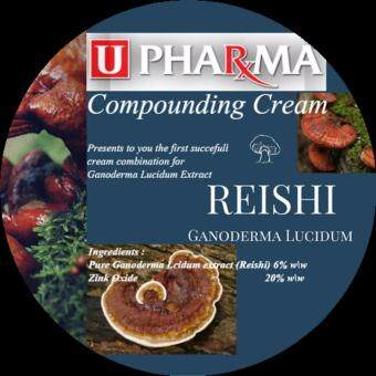 Harga U PHARMA Compounding Cream: Ganoderma Lucidum Zinc Oxide Composition/ Scars, Acnes, Eczema And Skin Infection Treatment