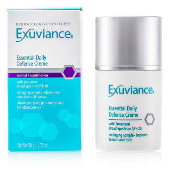 Harga Exuviance Essential Daily Defense Creme SPF 20 (For Normal/ Combination Skin) 50ml/1.75oz
