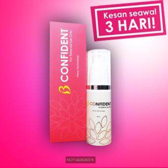 Harga B CONFIDENT BREAST SERUM KKM NO NOT160303037K