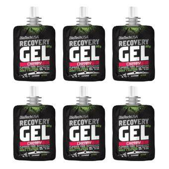 Harga BioTechUSA Recovery Gel 60g (6 packs) - Cherry