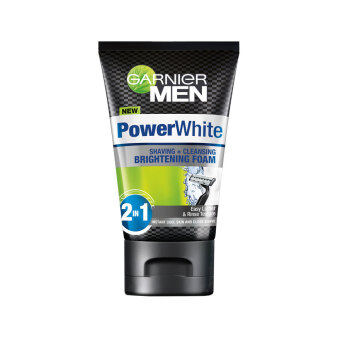 Harga GARNIER MEN PowerWhite Brightening Foam 100ML