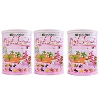 Harga BIOGREEN Pink Lady Oatmilk 3 x 800g (Triple Pack)