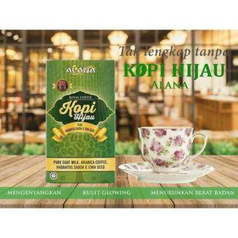Harga Alana Kopi Hijau - Green Coffee -3 unit