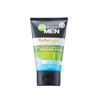 Harga GARNIER MEN Men Turbolight Oil Control Cooling Foam 100ml 100ML