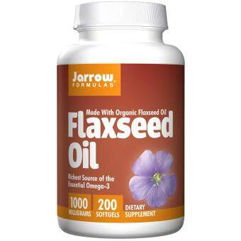 Harga JARROW FORMULAS FLAXSEED OIL 1000MG, 200 SOFTGELS