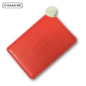 Harga Coach Stainless Steel Mirror (Red)