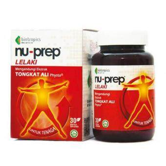 Harga NU-PREP 100 TONGKAT ALI 30tab (FOR MEN'S ENERGY & SEXUAL POWER)
