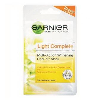 Harga Garnier Light Complete Peel-Off Mask 2X6ml