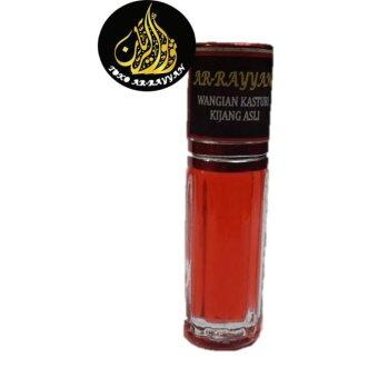 Harga Minyak Kasturi Kijang Merah Deer Musk (Red) Attar Perfume Oil Alcohol Free - 3ML