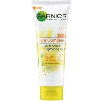 Harga Garnier Light Complete Scrub 50ml