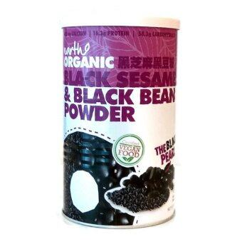 Harga Earth Organic Black Sesame & Black Bean Powder 500g