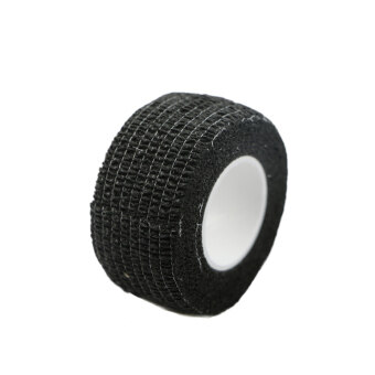 Harga New 1 Roll Kinesiology Muscle Care Fitness Athletic Safety Sport Health Tape (Black)